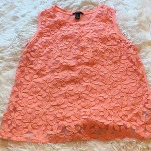 Tops - Orange shirt from forever 21